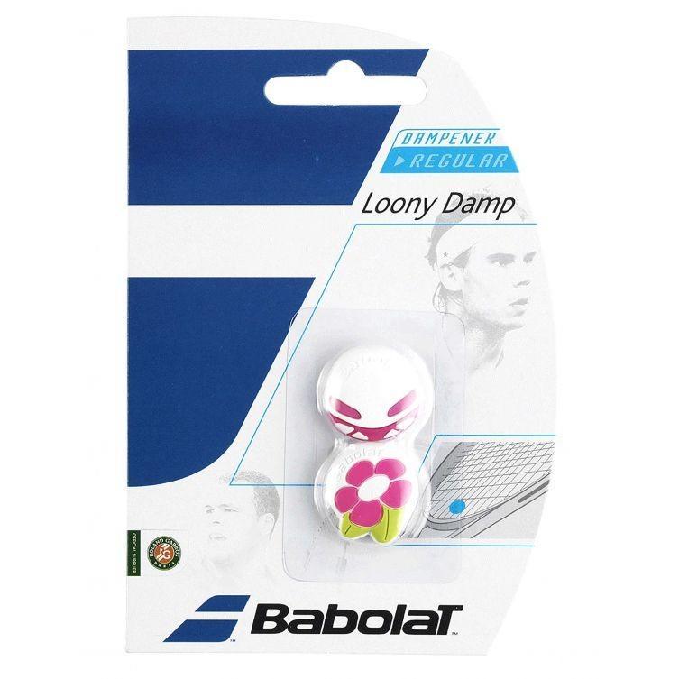 Виброгаситель Babolat Loony Damp X2 white/pink