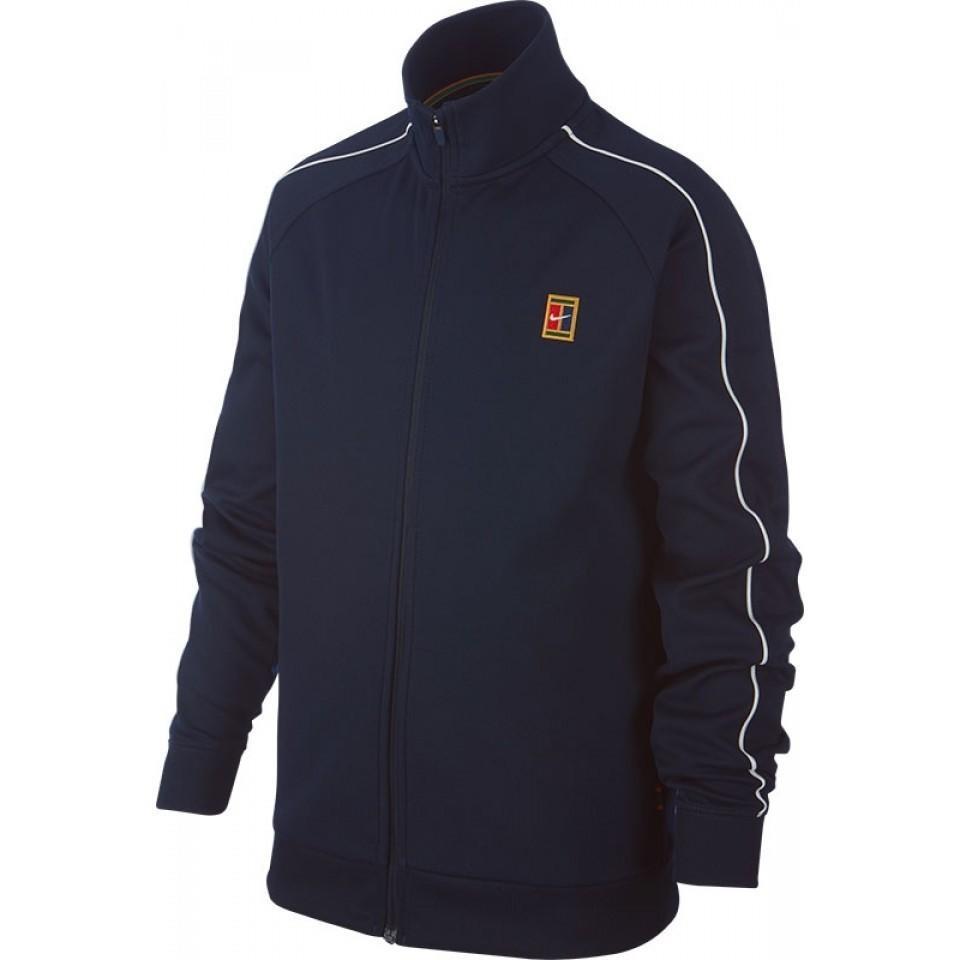 Куртка детская Nike Court Warm Up Jacket blue void/white/white