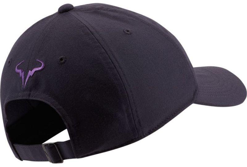 Теннисная кепка Nike Rafa U Aerobill H86 Cap gridiron/bright violet
