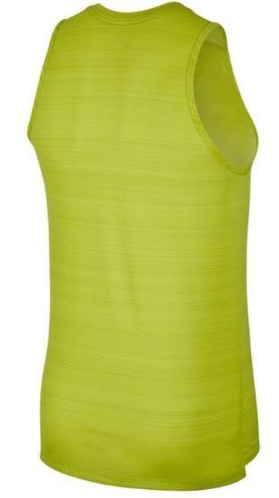 Спортивна майка чоловіча Nike Miler Tank Top light green/grey