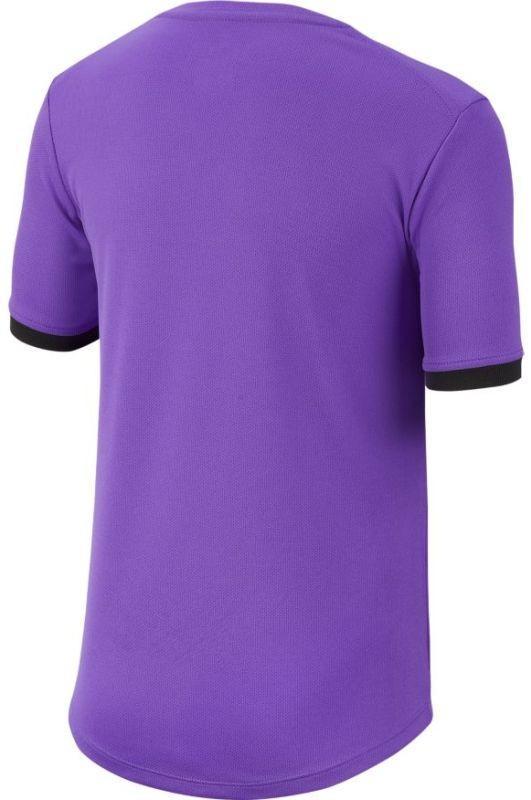 Теннисная футболка детская Nike Court Dry Top SS Boys psychic purple/off noir/off noir