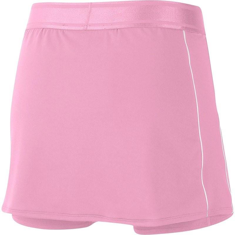 Теннисная юбка женская Nike Court Dry Skirt pink rise/white