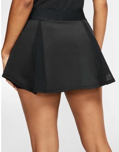 Теннисная юбка женская Nike Court Elevated Flouncy Skirt black/white