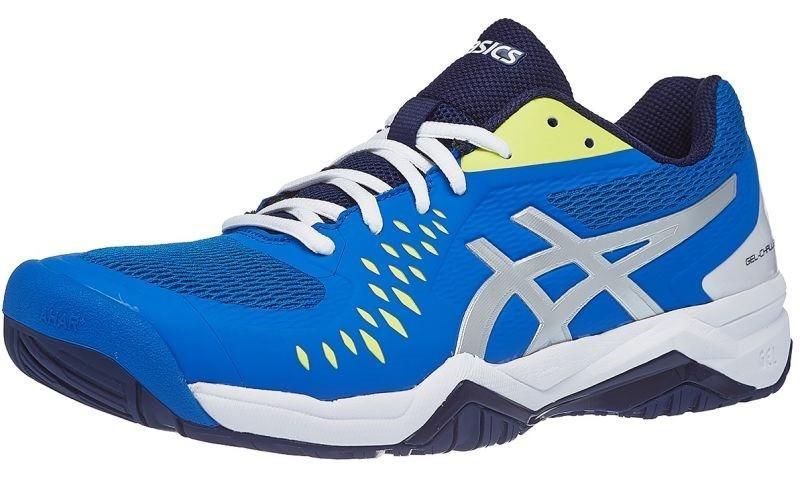 Теннисные кроссовки мужские Asics Gel-Challenger 12 electric blue/silver