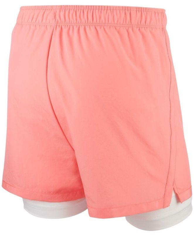 Теннисные шорты детские Nike Dry 2in1 Short Girls pink gaze/white/white