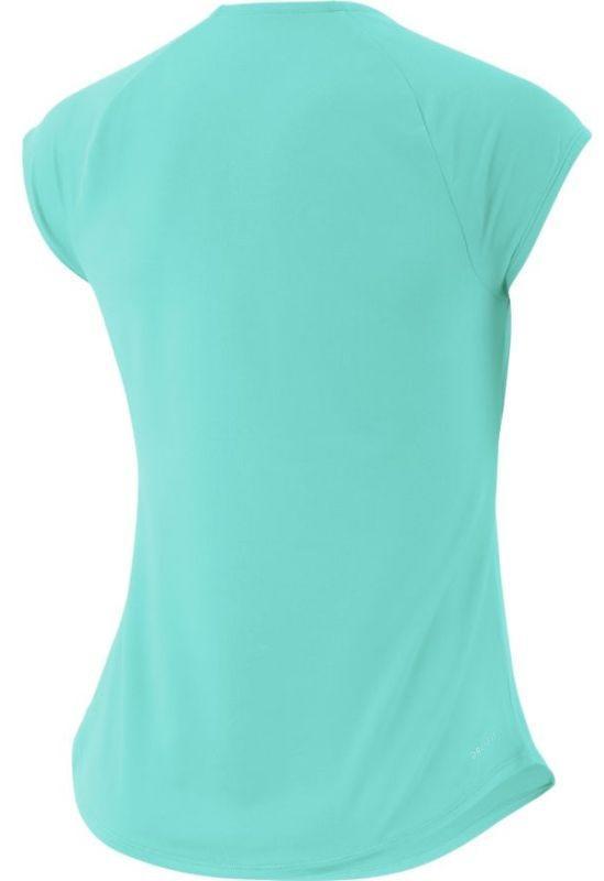 Теннисная футболка женская Nike Court Pure Top light aqua/light aqua