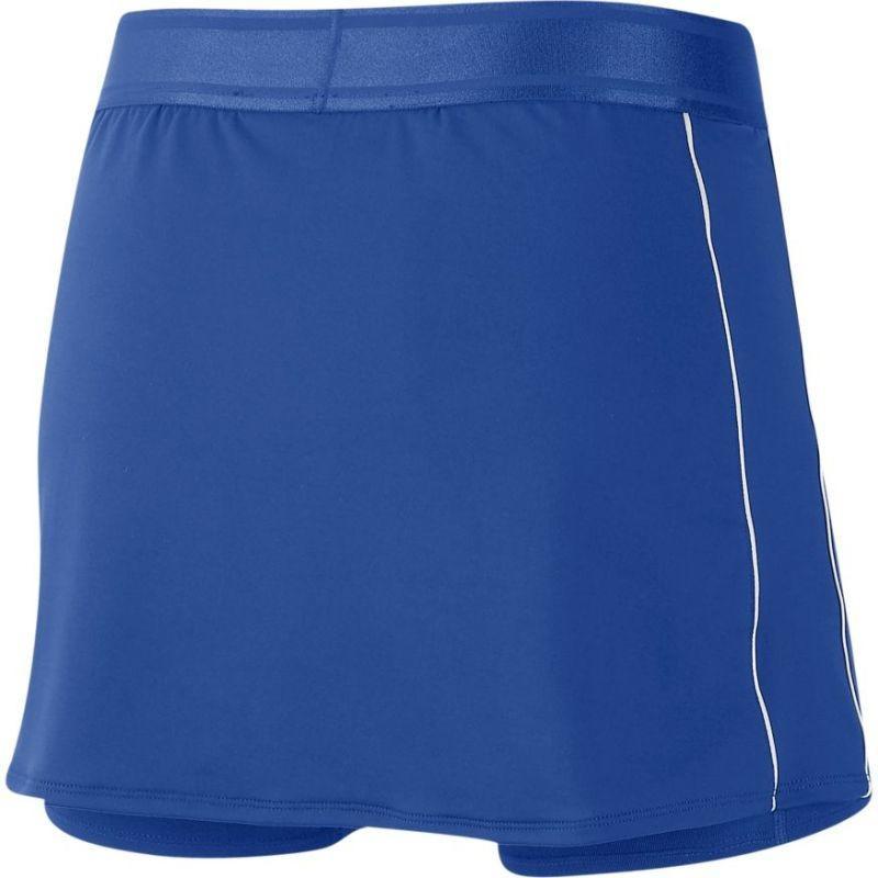Теннисная юбка женская Nike Court Dry Skirt game royal/white/white/white