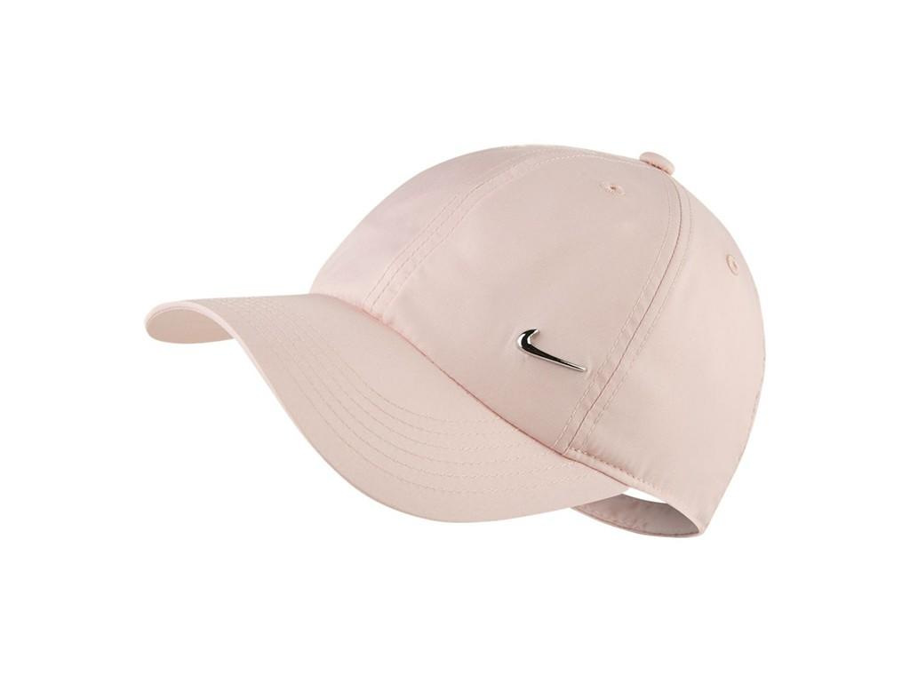 Кепка дитяча Nike Youth Heritage 86 Cap Metal Swoosh light pink/metallic silver