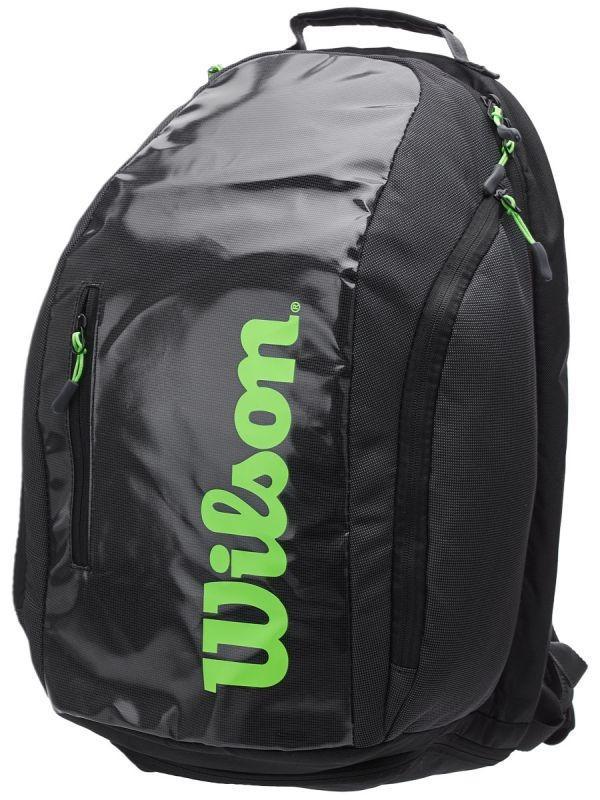 Теннисный рюкзак Wilson Super Tour Backpack charcoal/green