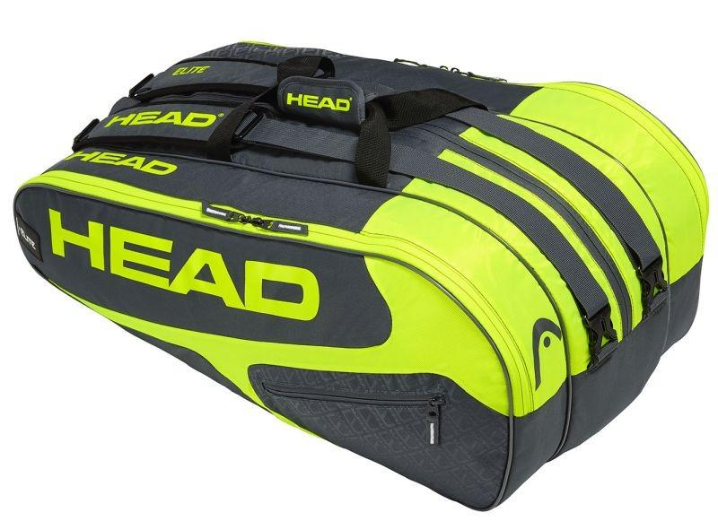 Теннисная сумка Head Elite 12R Monstercombi green/neon yellow