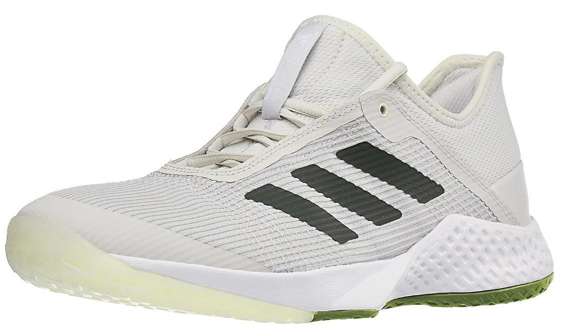 Теннисные кроссовки мужские Adidas Adizero Club 2 grey/green