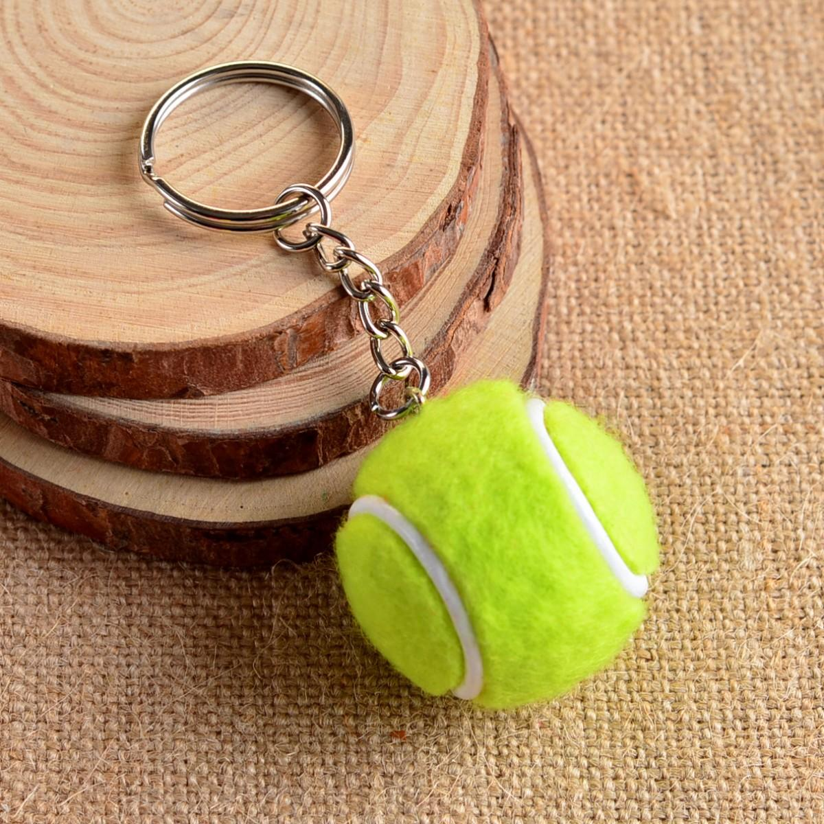 Брелок Mini Tennis Ball Key Buckle volt