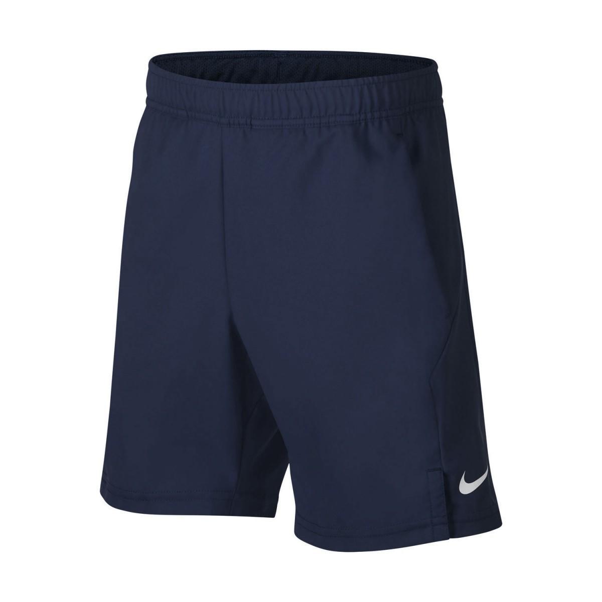 Теннисные шорты детские Nike B Court Dry Short obsidian/white