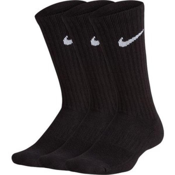 Носки детские Nike Performance Cushioned Crew Junior 3-pack/black