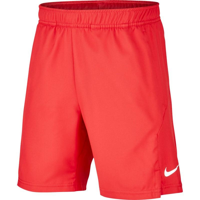 Теннисные шорты детские Nike B Court Dry Short gym red/white/white