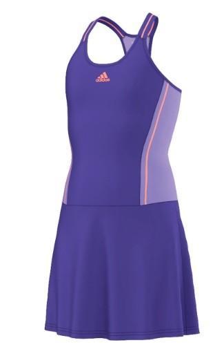 Теннисное платье детское Adidas Adizero Dress night flash