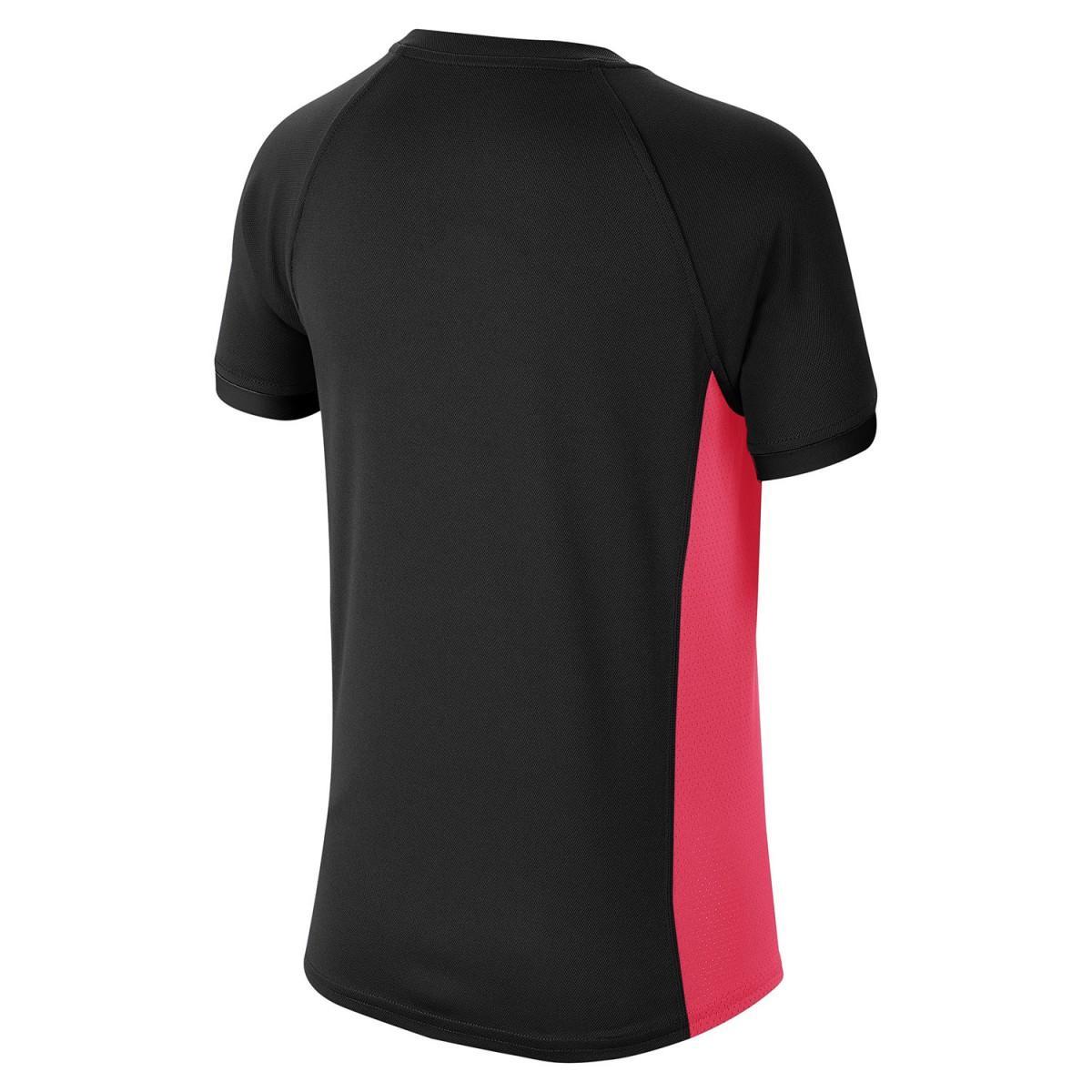 Теннисная футболка детская Nike Court Dry T-Shirt Boy black/laser crimson