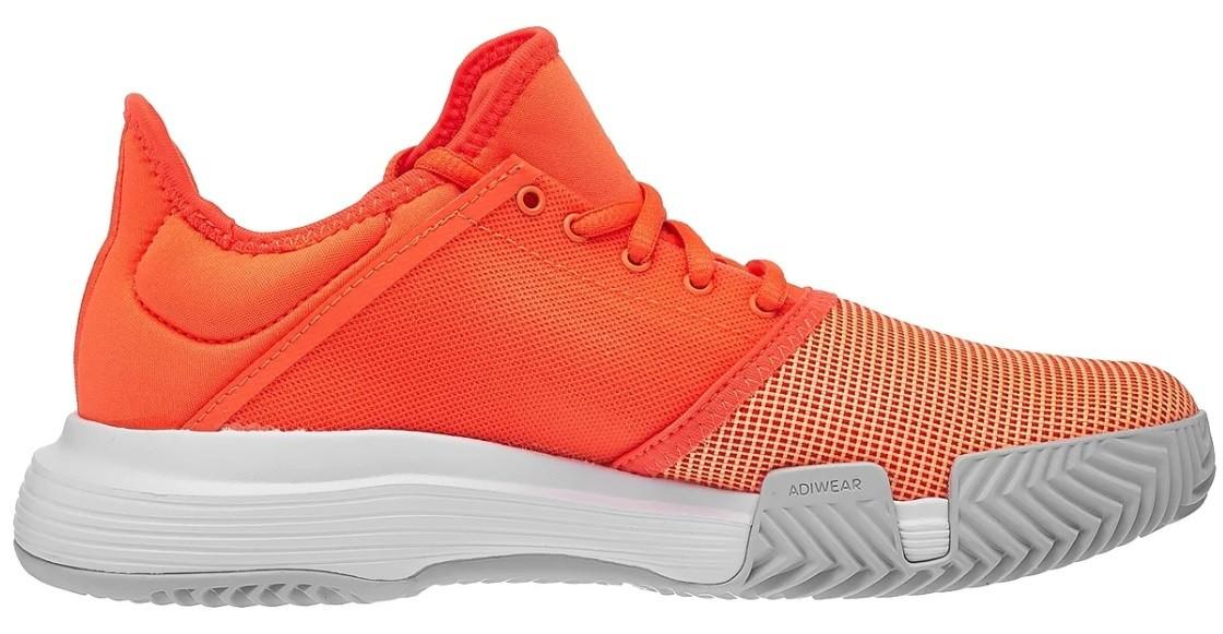 Теннисные кроссовки женские Adidas GameCourt W hi-res coral/hi-res coral/light solid grey