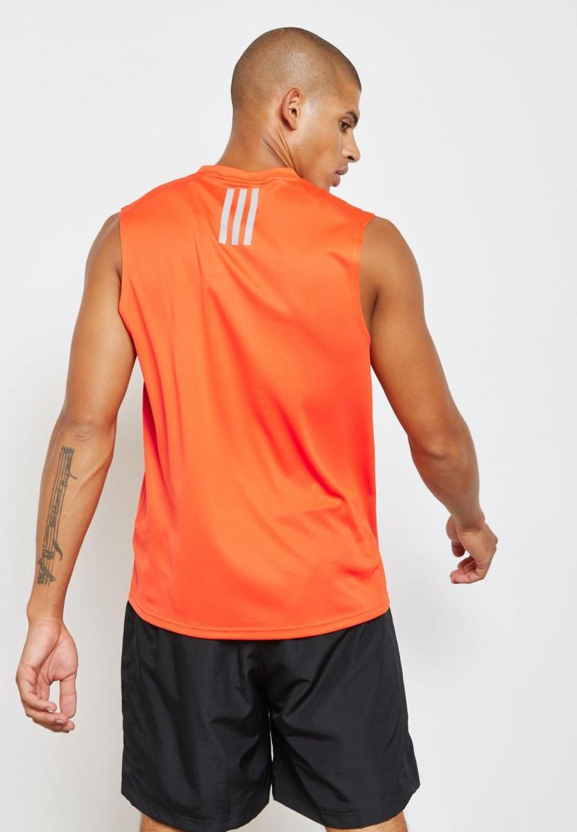 Спортивна майка чоловіча Adidas Response Singlet orange
