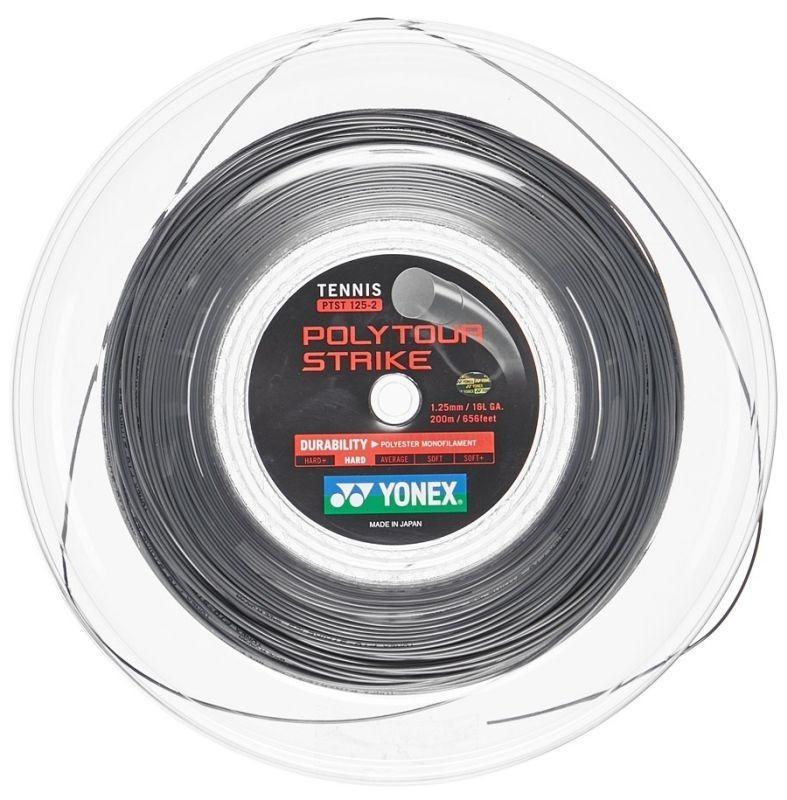 Струна Yonex Poly Tour Strike  (12 m) grey натяжка с бобины