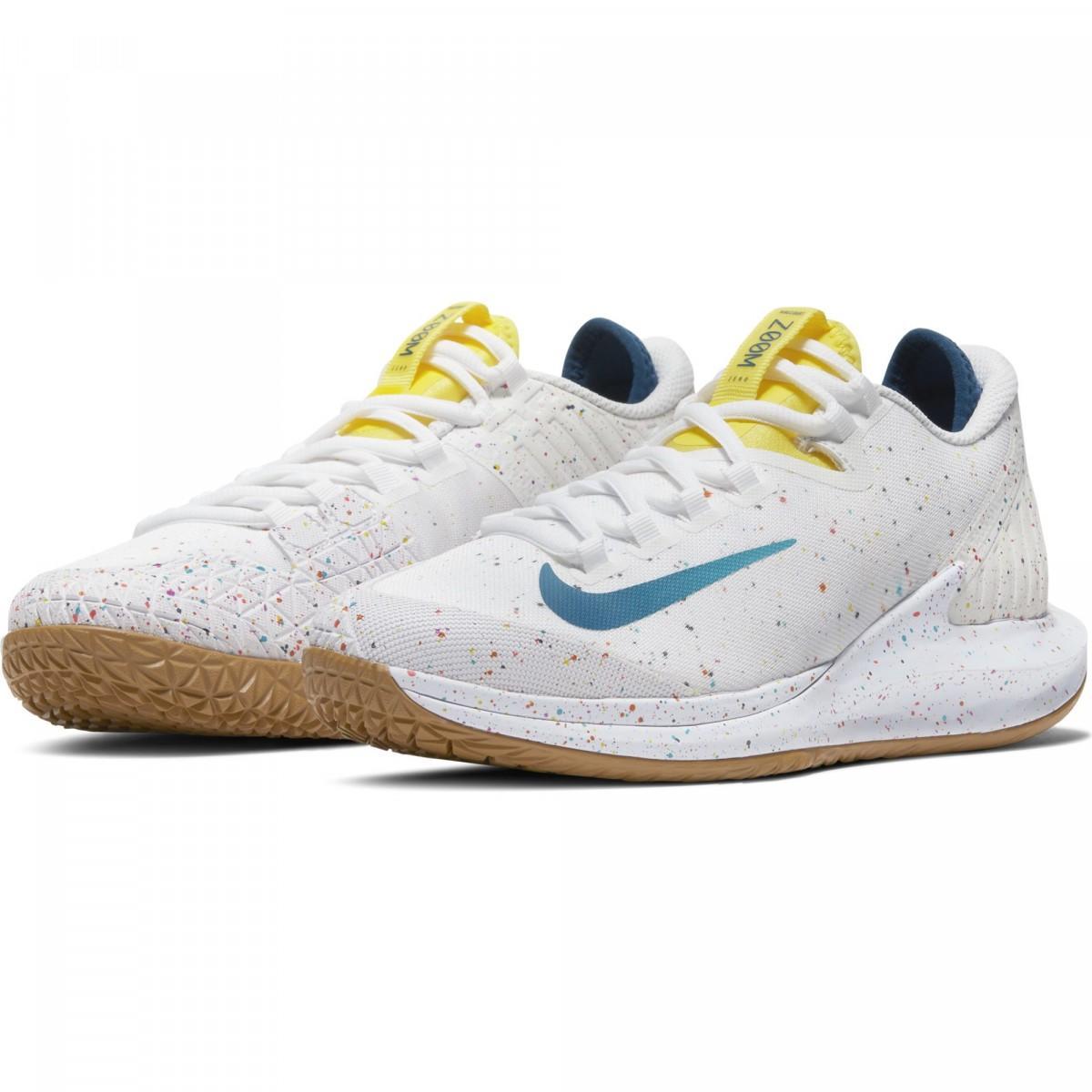 Теннисные кроссовки женские Nike W Court Air Zoom Zero white/valerian blue