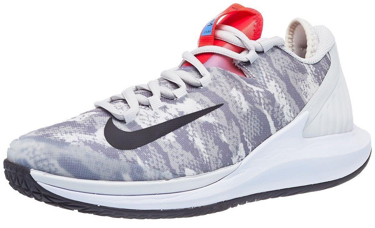 Теннисные кроссовки женские Nike W Court Air Zoom Zero platinum tint/thunder grey