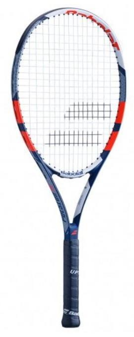 Теннисная ракетка Babolat Pulsion 105 (260g) grey/red/blue/white