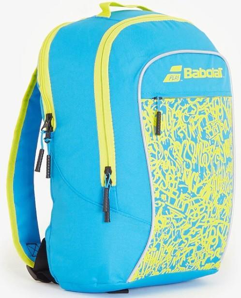 Теннисный рюкзак детский Babolat Backpack Junior Club blue/yellow lime