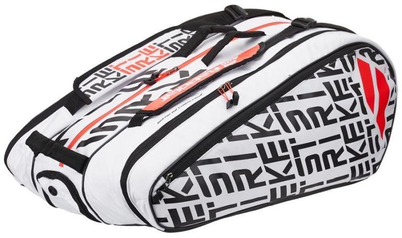 Теннисная сумка Babolat Pure Strike x12 2020 white/red