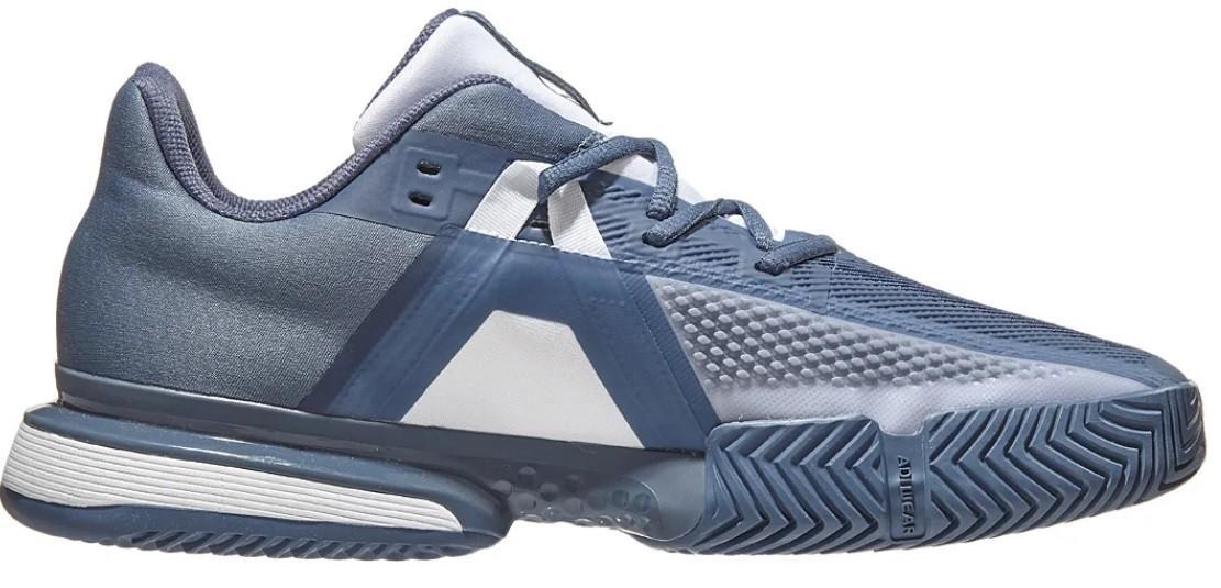 Теннисные кроссовки мужские Adidas SoleMatch Bounce tech Ink/white