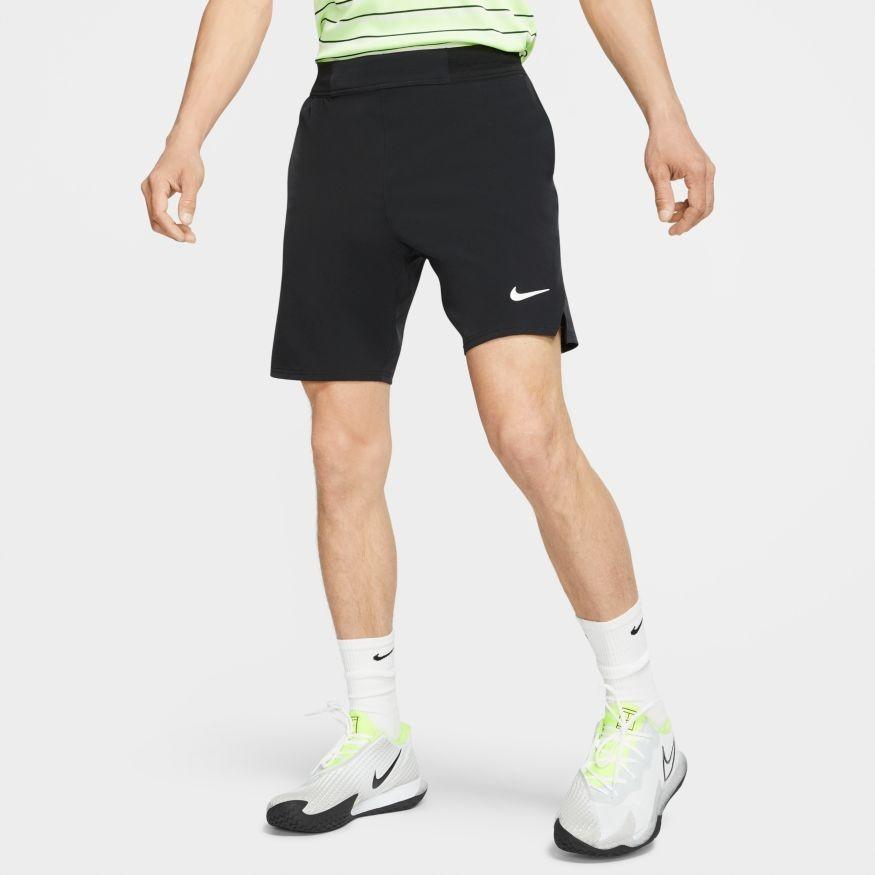 Теннисные шорты мужские Nike Court Flex Ace 9 inch Short black/white