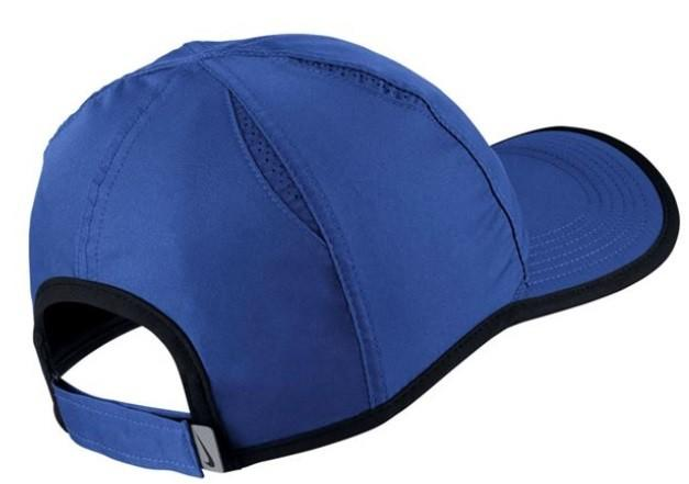 Теннисная кепка Nike Featherlight Cap game royal/black/white