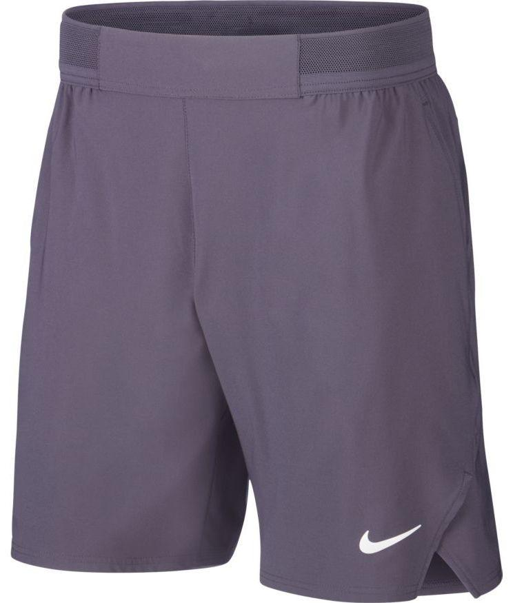 Теннисные шорты мужские Nike Court Flex Ace 9 inch Short gridiron/white