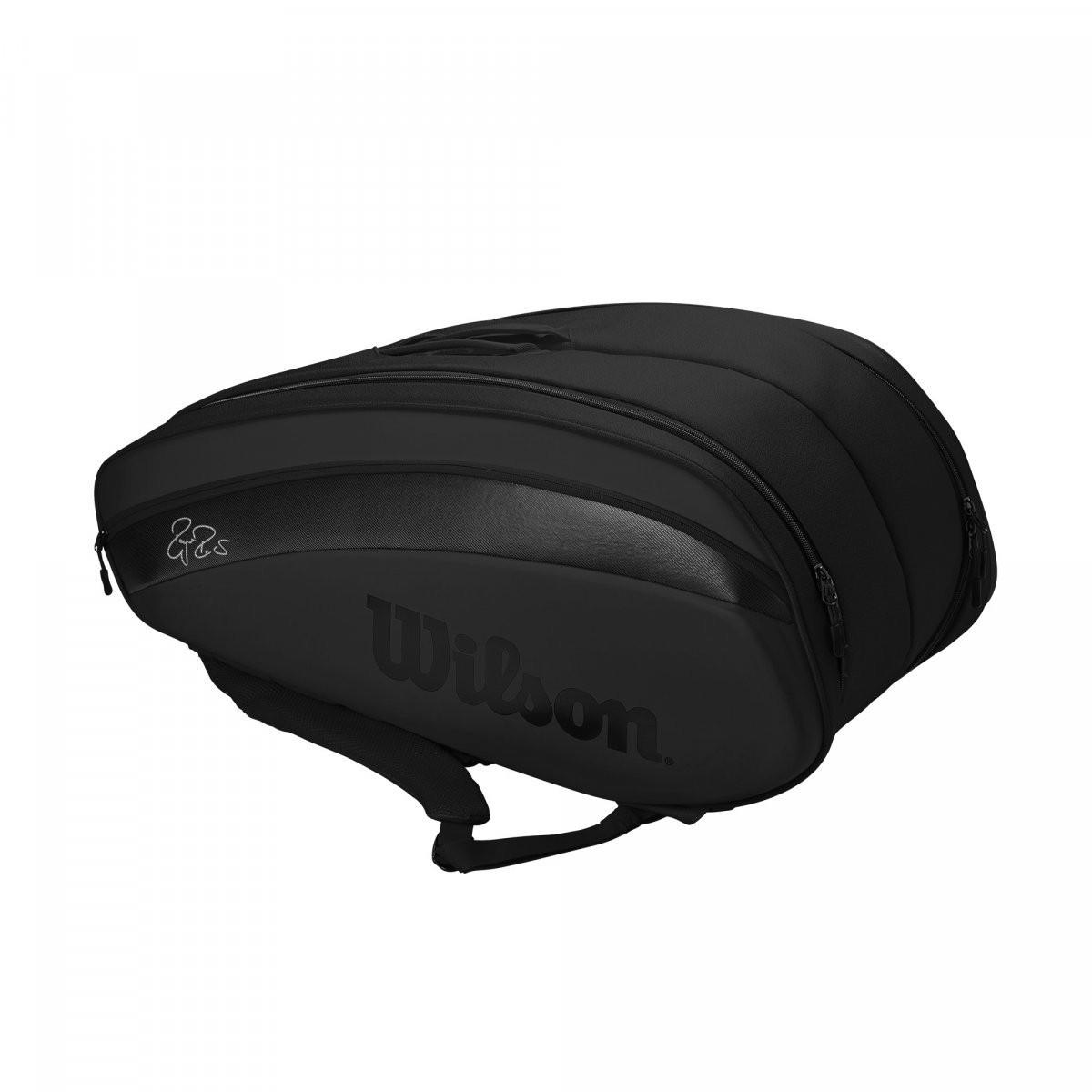 Теннисная сумка Wilson Federer DNA 12 Pk Bag 2020 black