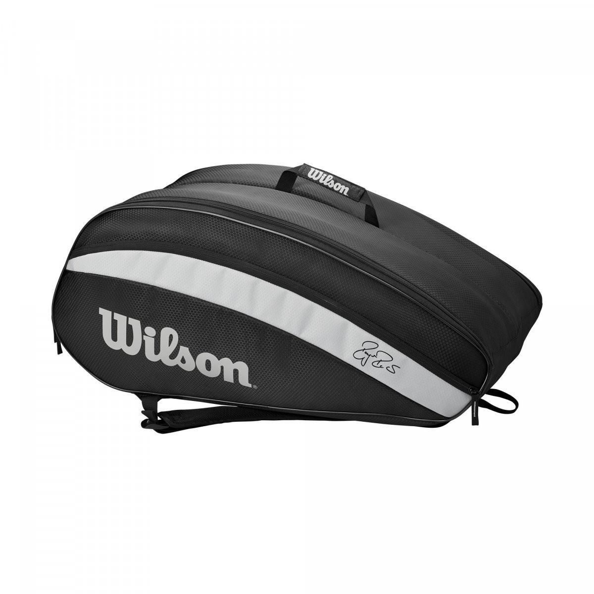 Теннисная сумка Wilson Fed Team 12 Pk Bag black/grey
