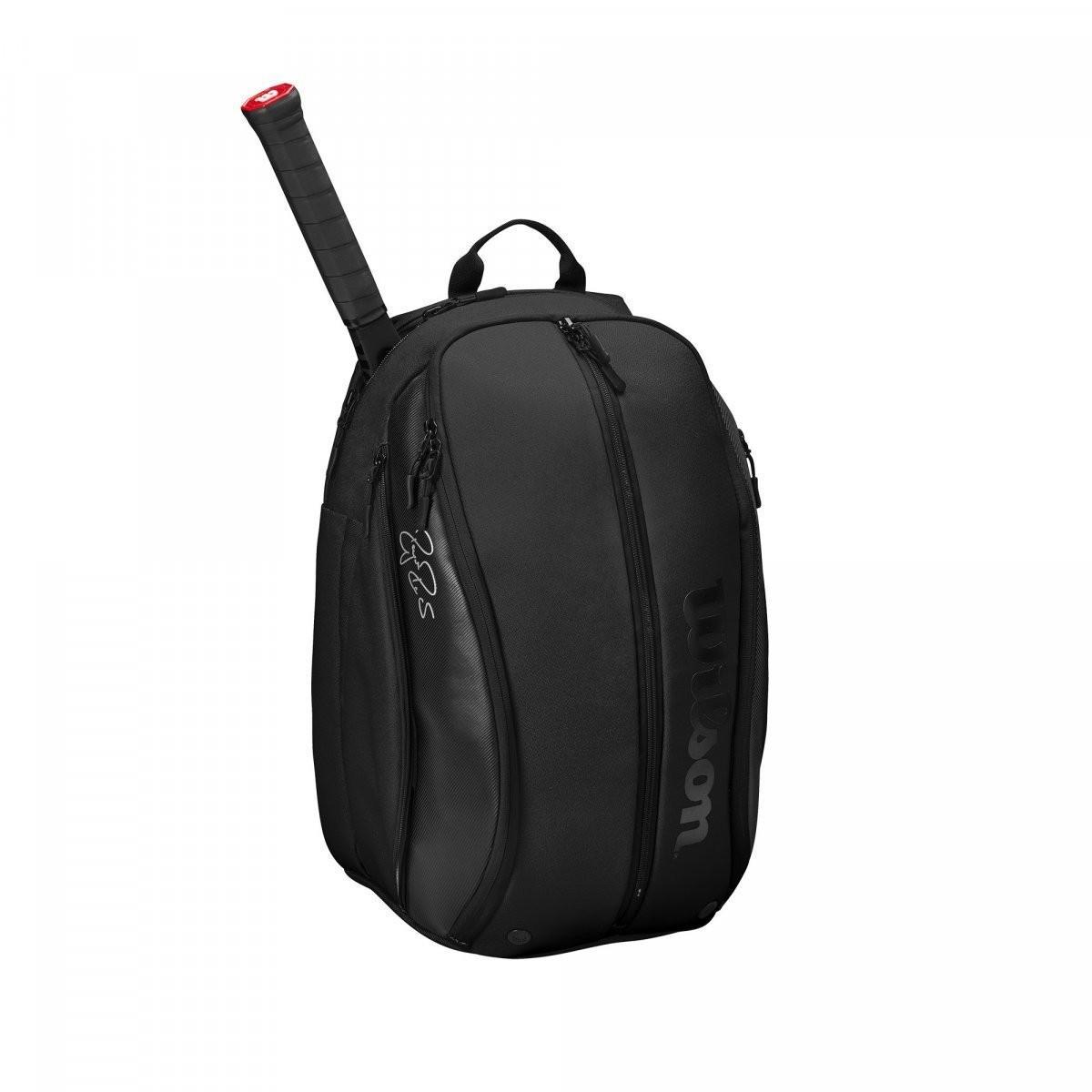 Теннисный рюкзак Wilson Federer DNA Backpack 2020 black