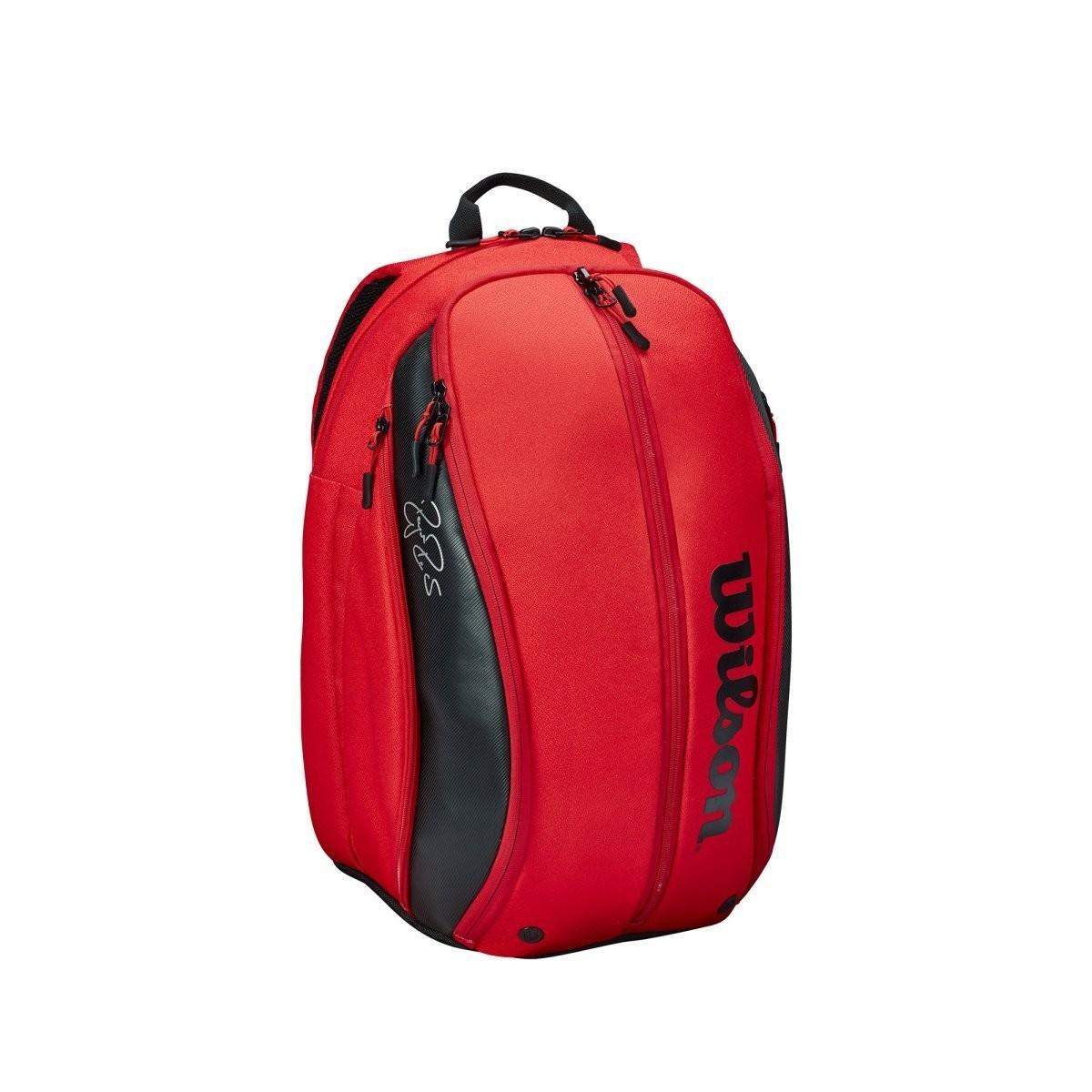 Теннисный рюкзак Wilson Federer DNA Backpack 2020 red