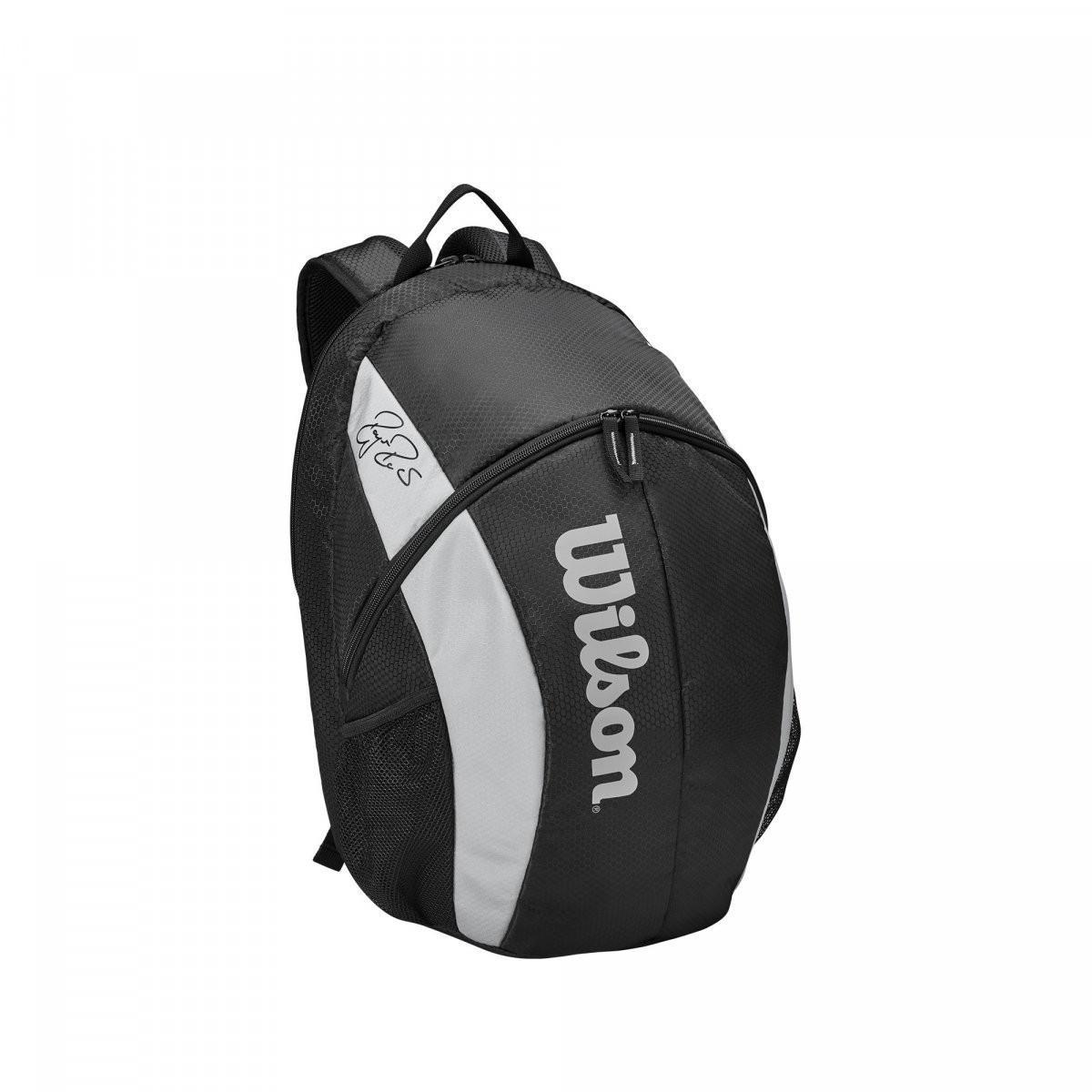 Теннисный рюкзак Wilson Fed Team Backpack black/grey