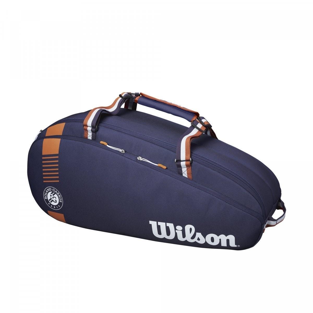 Теннисная сумка Wilson Roland Garros Team 6 Pk Bag navy