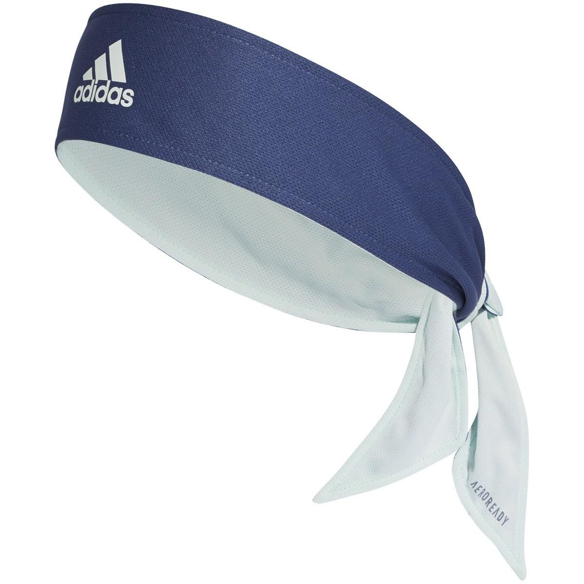 Бандана Adidas Tennis Tie Band Aeroready (OSFY) dash green/tech indigo/tech indigo