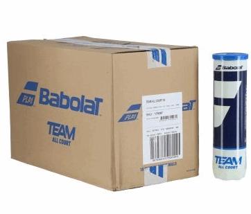 Мячи для тенниса Babolat Team All Court 4-Ball 18 банок