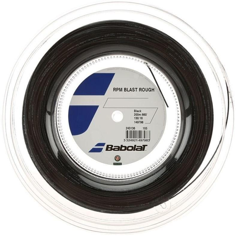 Струна Babolat RPM Blast Rough black 200 m бобина