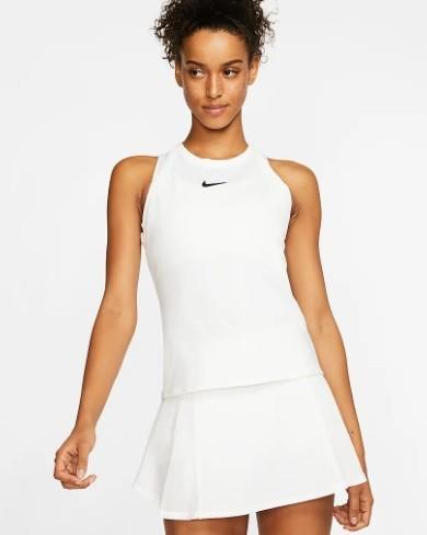 Теннисная майка женская Nike Court Dry Tank white