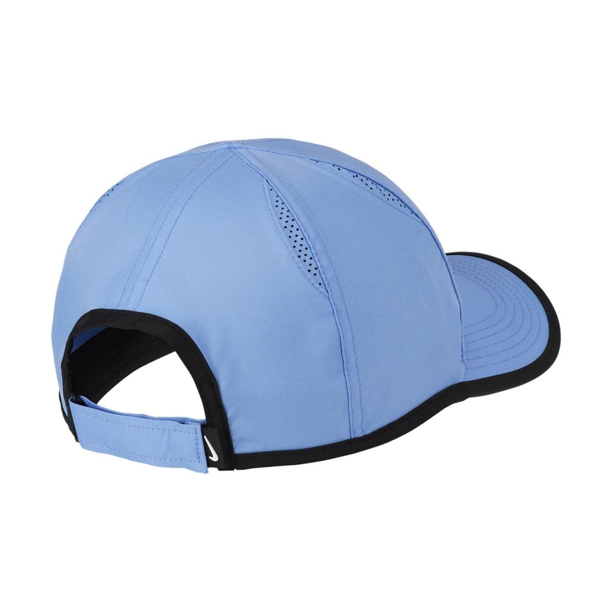Теннисная кепка Nike Feather Light Cap royal pulse/white