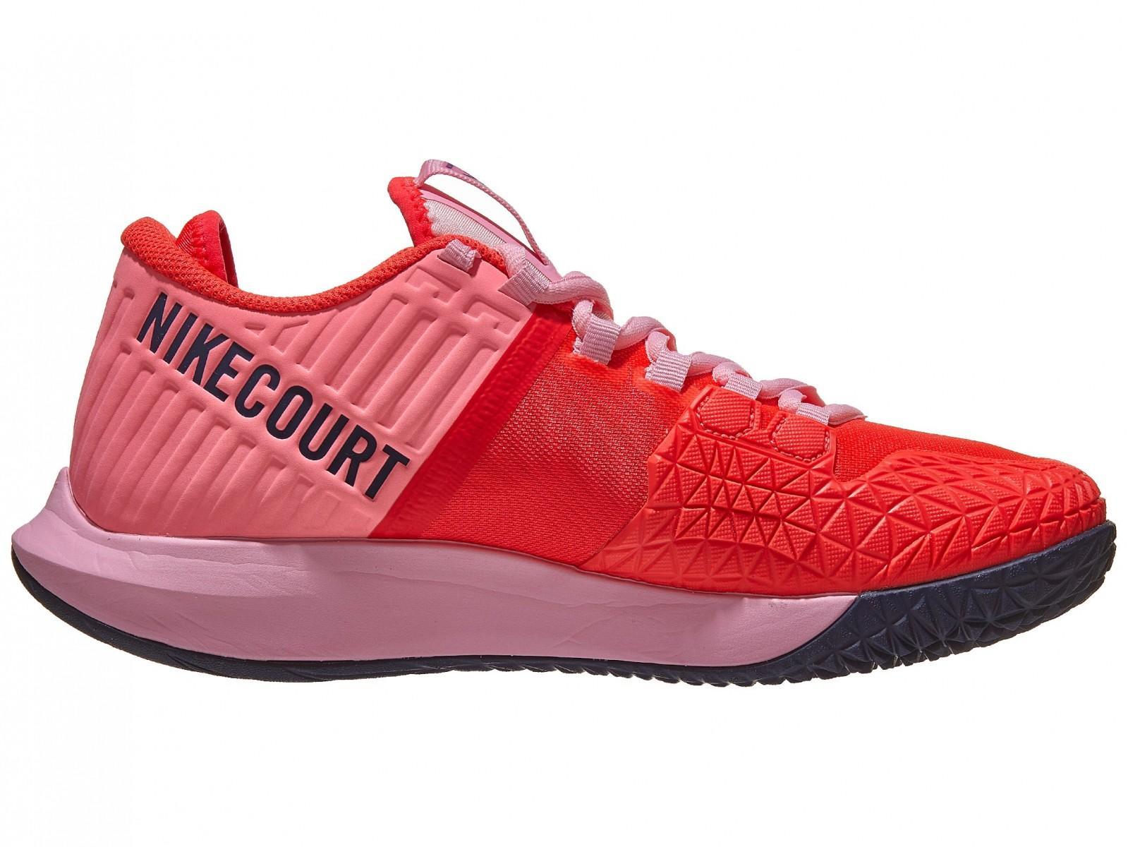 Теннисные кроссовки женские Nike W Court Air Zoom Zero laser crimson/blackened blue/pink