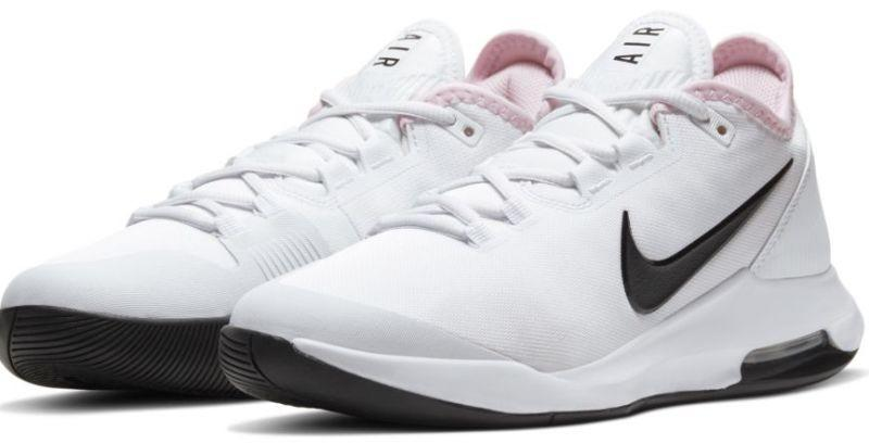 Теннисные кроссовки женские Nike WMNS Air Max Wildcard white/black/pink foam