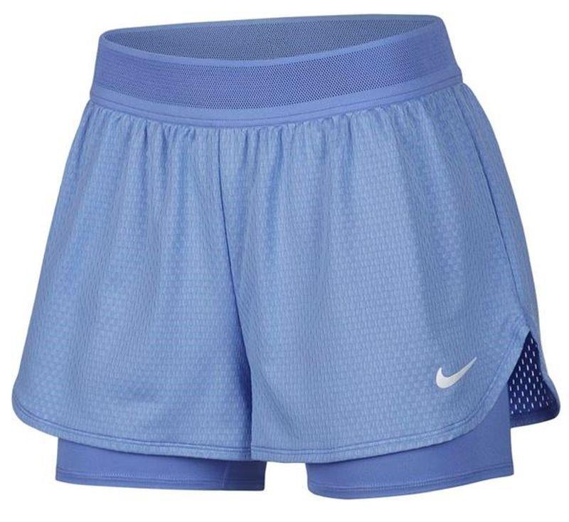 Тенісні шорти жіночі Nike Court W Dry Flex Elevated Essential Short royal pulse/white