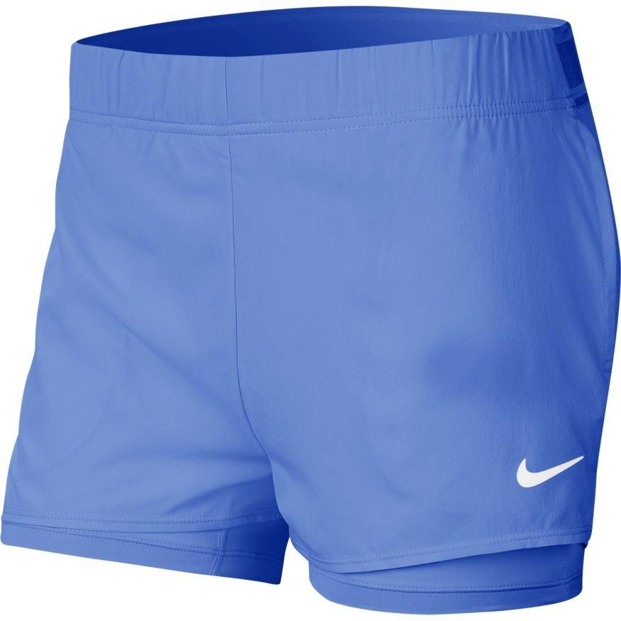 Тенісні шорти жіночі Nike Court Flex Short royal pulse/white