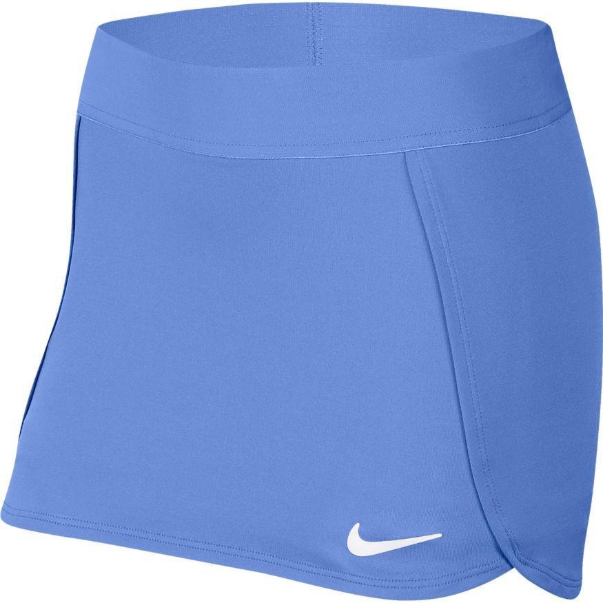 Теннисная юбка детская Nike Court Skirt STR royal pulse/white