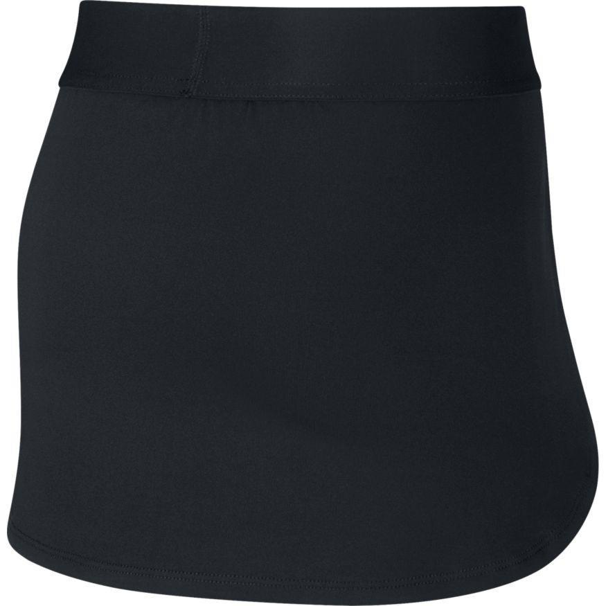 Теннисная юбка детская Nike Court Skirt STR black/white